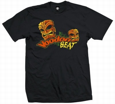 Tiki Masks - Men Shirt - Schwarz