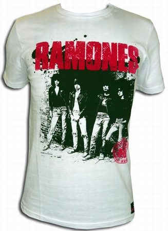 Rock & Rebellion Shirt - Ramones Rocket