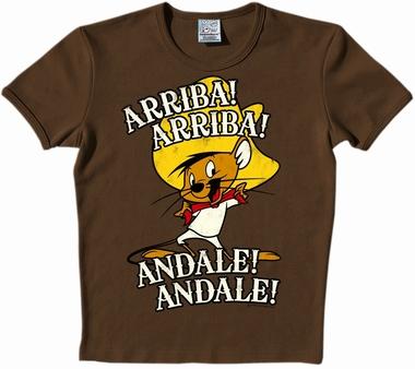 Logoshirt - Looney Tunes - Arriba! Andale! Shirt Braun