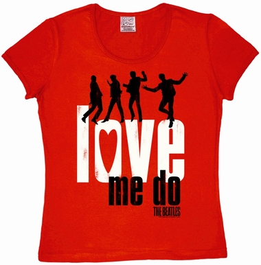 Logoshirt - The Beatles - Love Me Do Girl Shirt