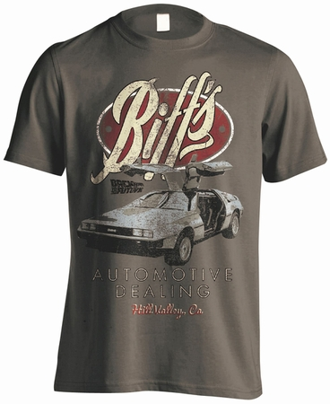 Zurück in die Zukunft T-Shirt Biffs Automotive (DeLorean)
