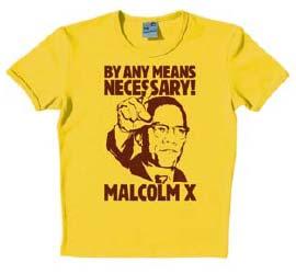 Logoshirt - Malcolm X - Shirt