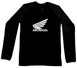 Honda Long Sleeve - schwarz - shirt