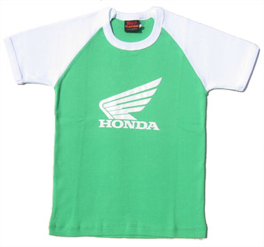 Honda - grn/weiss - shirt