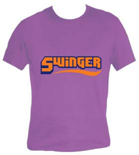 TUNA - Swinger shirt - violett
