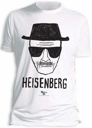 BREAKING BAD T SHIRT HEISENBERG WALTER WHITE WEISS