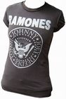 Amplified - Ramones Shirt Logo - Girl