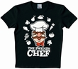 LOGOSHIRT - MUPPETS - SWEDISH CHEF SHIRT - SCHWARZ