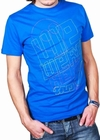 We Were Here - Shirt - Blau  Modell: Hereblau2010