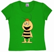 LOGOSHIRT - BIENE MAJA - WILLI - GIRL SHIRT