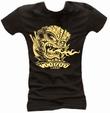 Tiki Volcano - Girl Shirt - schwarz