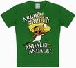 Kids Shirt - Looney Tunes - Arriba! Andale! Gr�n