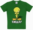KIDS SHIRT - TWEETY GR�N - LOONEY TOONS