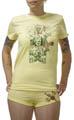 Header Women Garnitur Shirt und Shorts