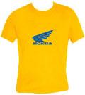 Honda - gelb - girlie shirt Modell: TS022-GM