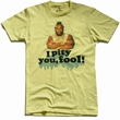 American Classics - I pity you, fool - Shirt - hellgelb Modell: AT555Banana