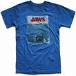 American Classics - Jaws - Shirt - königsblau Modell: JAW507