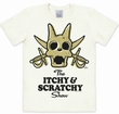 Logoshirt - Itchy und Scratchy Weiss - Shirt Modell: LOS0400990008