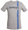Lambretta Shirt - Streifen Grau Modell: LMK7539-grau