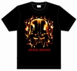 Star Wars Shirt - Darth Vader Flammen Modell: CWMB10913