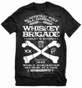 WHISKEY SCHWARZ - STEADY CLOTHING T-SHIRT