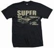SUPER BEE 383 - MEN SHIRT SCHWARZ