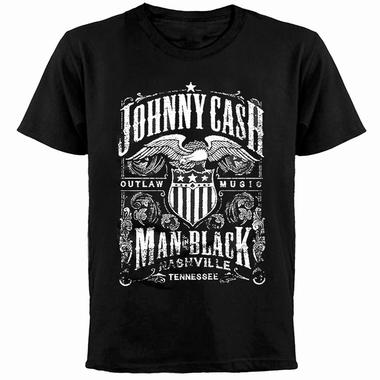 Johnny Cash T-Shirt Label