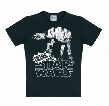 Kids Shirt - Star Wars - AT- AT Schwarz
