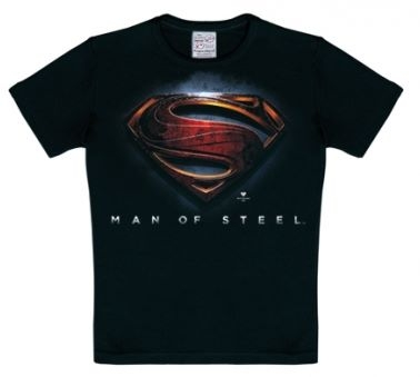 Kids Shirt - Superman Men of Steel Kinder Shirt