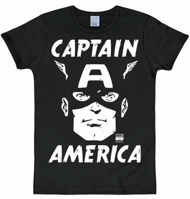 Logoshirt - Captain America Portrait