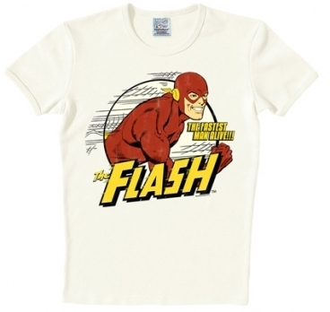 Logoshirt - Der rote Blitz Shirt - The Flash - DC Comics