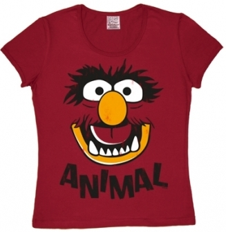 Logoshirt - Muppets Faces Animal - Girl Shirt
