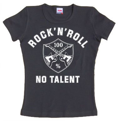 No Talent - Girl shirt - schwarz