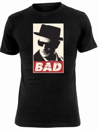 Walter White Bad T-Shirt - Schwarz - Breaking Bad