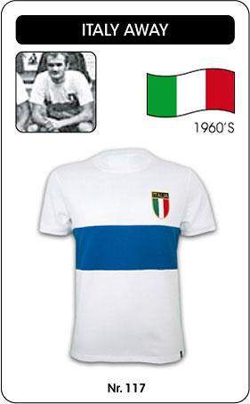 Italien Retro Trikot 1960 weiss