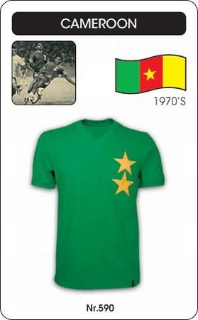 Kamerun Retro Trikot Grün