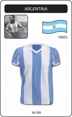 Argentinien Retro Trikot Fussballtrikot