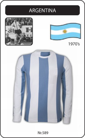 Argentinien Retro Trikot Langarm