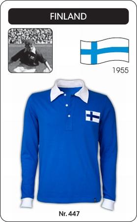 Finnland Retro Trikot Langarm