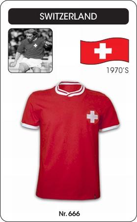 Schweiz Retro Trikot