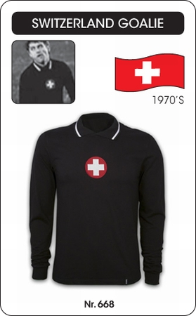 Schweiz - Switzerland - Retro Torwarttrikot