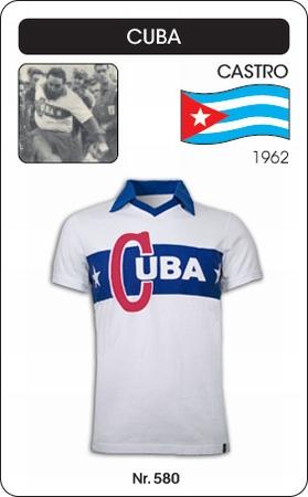 Kuba Retro Trikot Weiss