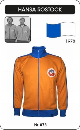 Hansa Rostock Retro Fussballjacke 1980