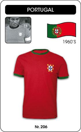 Portugal Retro Trikot