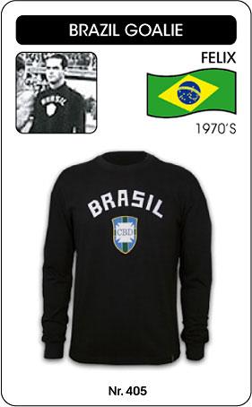 Brasilien Retro Torwarttrikot