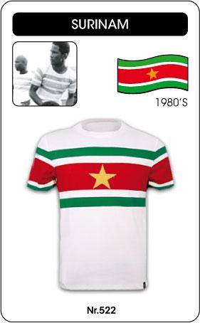 Surinam Retro Trikot