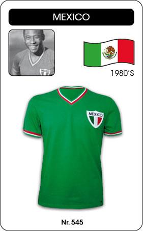Mexiko Retro Fussballtrikot