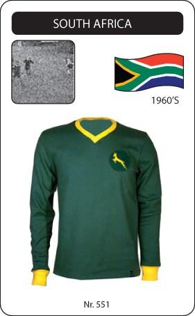 Südafrika Retro Trikot Langarm