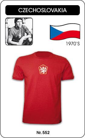 Tschechoslowakei Retro Trikot