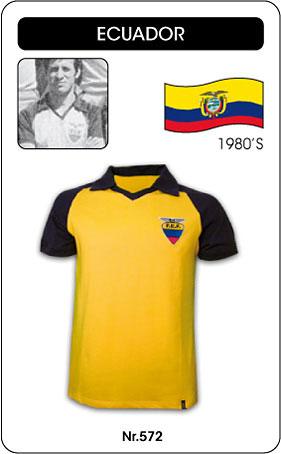 Ecuador Retro Trikot